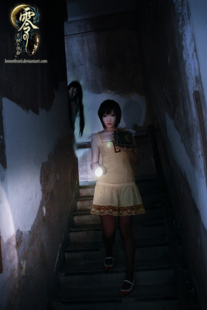 Fatal Frame 4 Cosplay Flashlight Ghost Lurking by Lennethxvii Aoi Takamura