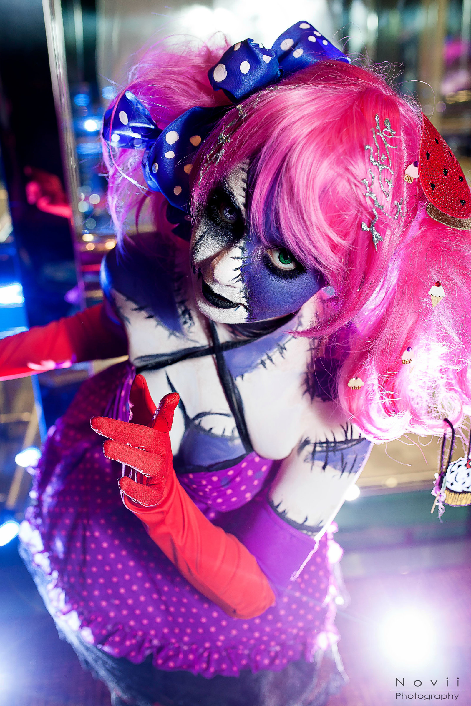 Miku Cosplay Cotton Candy Crazy Starring TraumaticCandy by NoviiPhotography