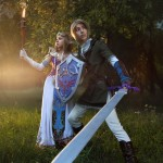 Legend of Epona Cosplay Forest Temple Zelda Starring Rubeeamadare and MorgoIIIa by Akami777
