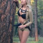 Amie Lynn Gun Cosplay Eva MGS3