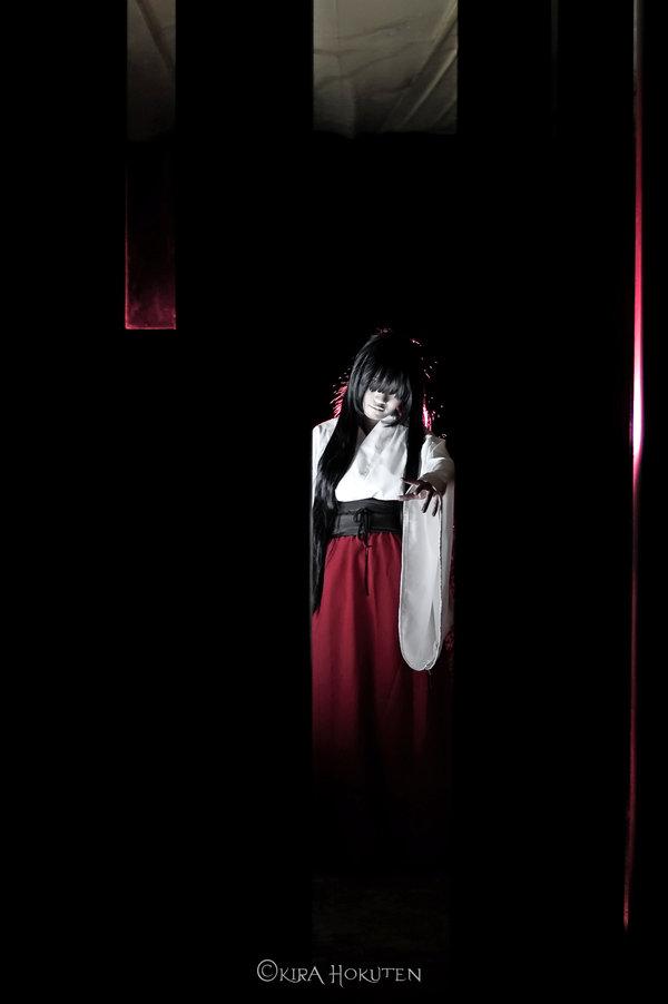 Fatal Frame Hand Maiden Cosplay Starring Yefa by Kirahokuten
