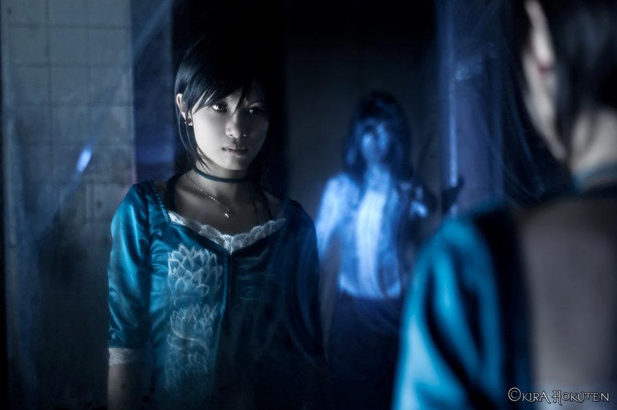 Fatal Frame 3 Rei Cosplay Ghost Mirror by Kirahokuten Deviant Art The Tormented