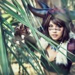 Amie Lynn Berserker Yuna Cosplay Hide Me Final Fantasy X Cosplay