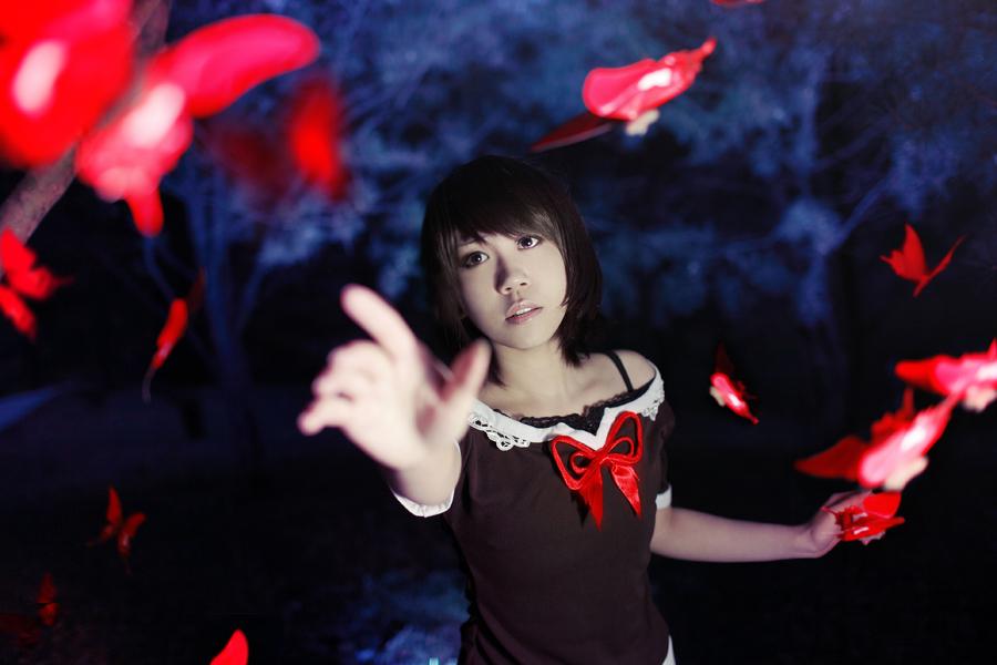 Fatal Frame 2 Mio Cosplay Fallen Leaves by Sakina666 Deviantart