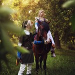 Legend of Epona Cosplay Lost Woods Zelda Starring Rubeeamadare and MorgoIIIa by Akami777