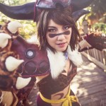 Amie Lynn Beast Mode Cosplay Berserker Yuna