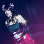 Amie Lynn Dynasty Warriors 8 Cosplay Guan Yinping Stunning