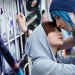 Life Is Strange Lesbian Cosplay Max and Chloe Together