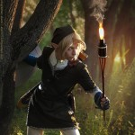 Legend of Epona Cosplay Torch Lights the Way Link Starring MorgoIIIa by Akami777
