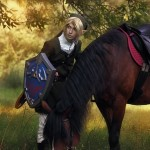Legend of Epona Cosplay Hyrulean Shield Link Starring MorgoIIIa by Akami777