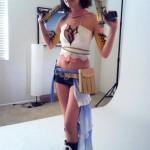 Amie Lynn Yuna Cosplay Final Fantasy X2 Sexy With Guns