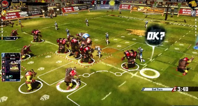 Blood Bowl 2 Gameplay Screenshot Strategy Xbox One PS4 PC