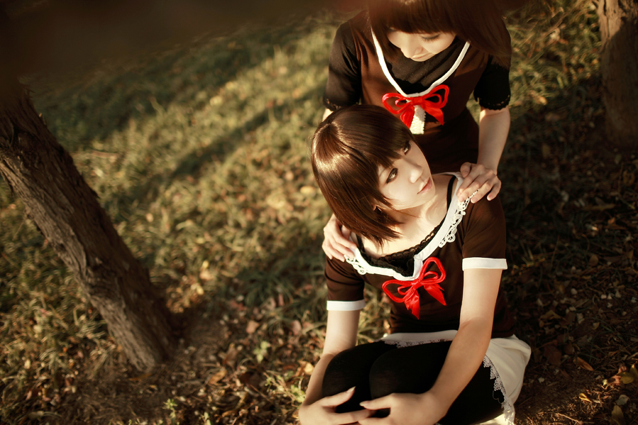 Fatal Frame 2 Cosplay Sisterly Love Mio Mayu by Sakina666