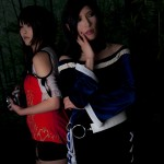 Fatal Frame 5 Cosplay Back to Back Yuuri and Hisoka by Aoi Takamura