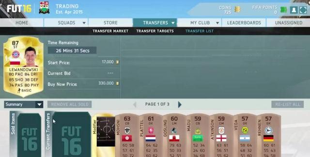 FIFA 16 Money Cheat