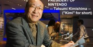 Kimi Nintendo President Plays Nintendo DS