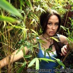 Meg Turney Lara Croft Through the Trees by Matthew W Boman