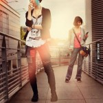 Life Is Strange Cosplay Max and Chloe Walkway