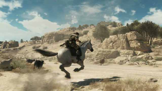 Metal Gear Solid 5: The Phantom Pain How To Get D-Horse