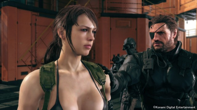 Metal Gear Solid 5: The Phantom Pain How To Get Quiet