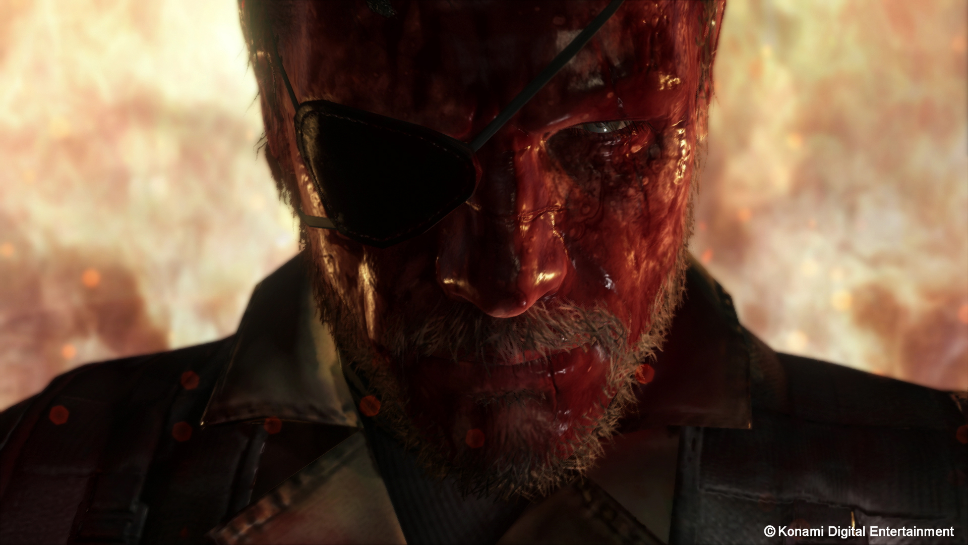 Metal Gear Solid V Wallpaper Bloody