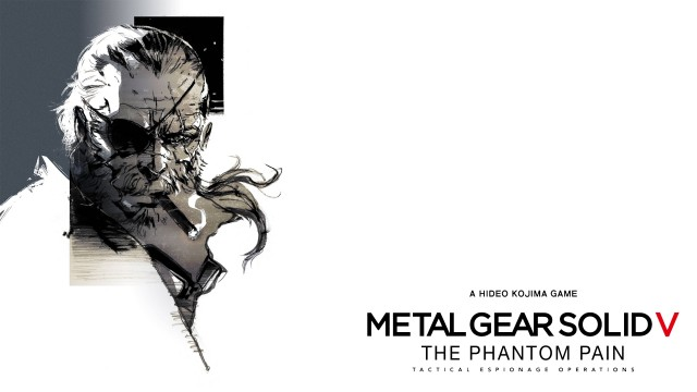 Metal Gear Solid V Wallpaper Pencil Art