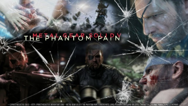 Metal Gear Solid V Wallpaper Shatter