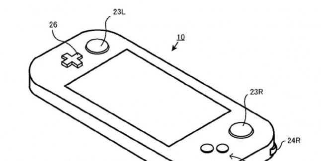 Nintendo NX Rotating Shoulder Buttons Patent Diagram