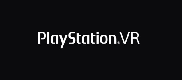 PlayStation VR Logo Artwork Official On Black Background