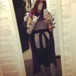 Meg Turney Shredder Selfie