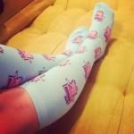 Meg Turney Socks Instagram Selfie