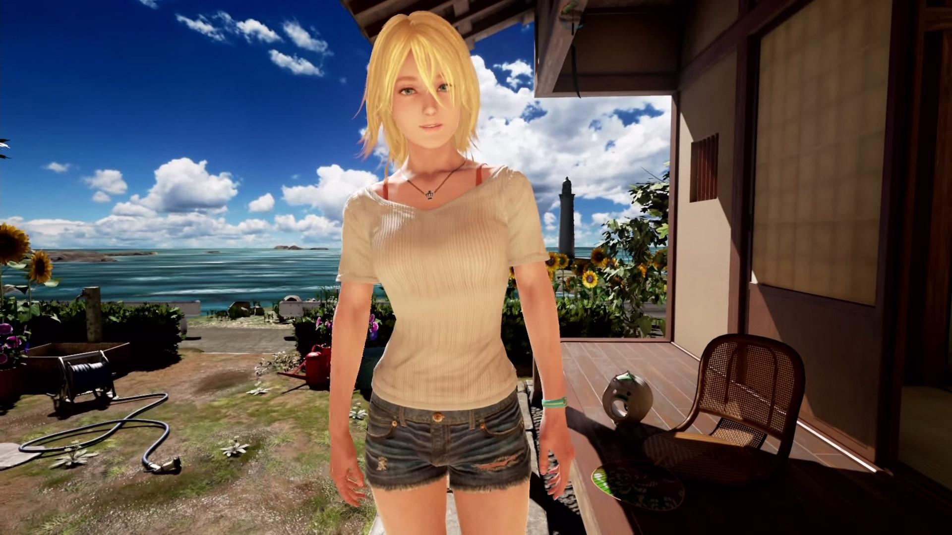 Summer Lesson Girlfriend Playstation Vr Blonde Bombshell -2023