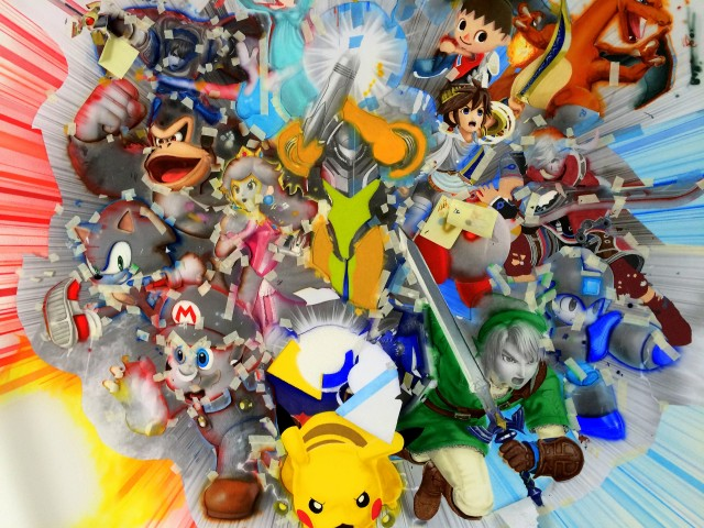 Super Smash Bros Wall Mural photo 3