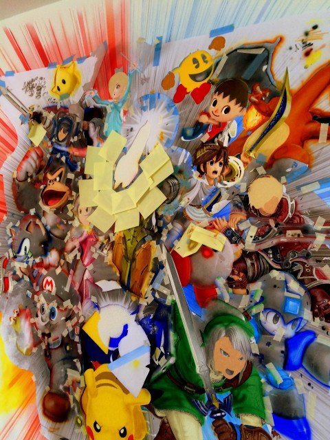 Super Smash Bros Wall Mural photo 4