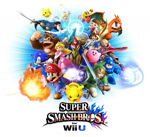 Super Smash Bros Wii U boxart