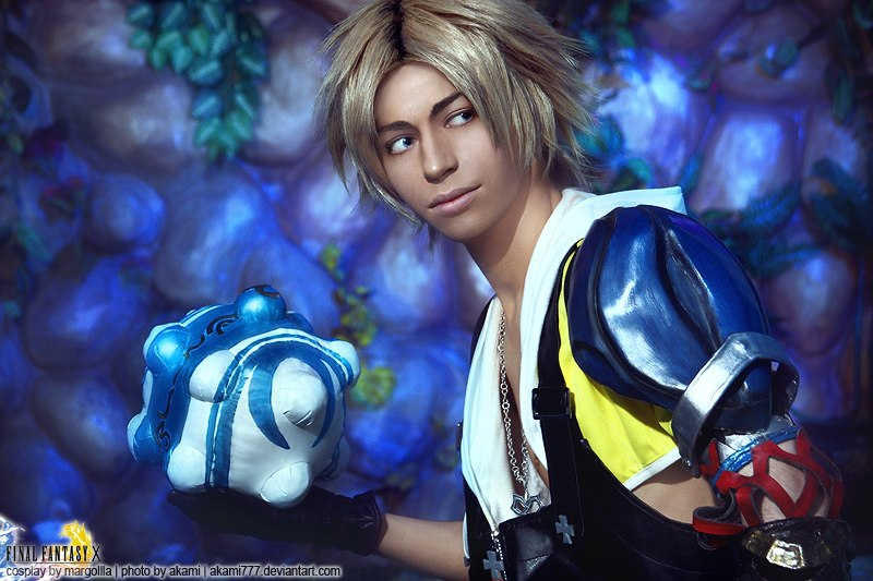 Tidus Cosplay Blitzball King Final Fantasy X Starring Margoiiia by Akami777