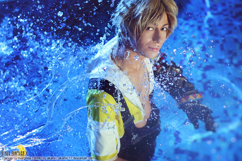 Tidus Cosplay Wet Looks Fine Final Fantasy X Starring Margoiiia by Akami777