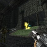 Turok 1 Remake Catacombs High Priest Shaman Enemy Gameplay Screenshot
