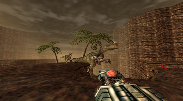 Turok 1 Remake Mech Raptor Lost Land PC Gameplay Screenshot