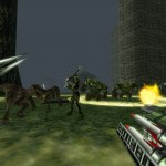 Turok 1 Remake Quad Rocket Launcher PC Gameplay Screenshot