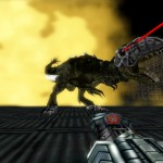 Turok 1 Remake Trex Boss Thunder Bionosaur Gameplay Screenshot