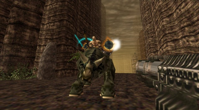 Turok 1 Remake Triceratops Enemy PC Gameplay Screenshot