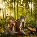 Life Is Strange Fanart Forest Owls Are Still Around by Mary-O-o