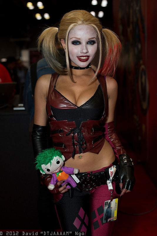Harley Quinn Con Cosplay Squeeze Me by David Dtjaaam Ngo