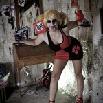 Harley Quinn Cosplay Gun Goes Boom Boom