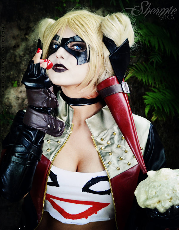 Harley Quinn Shermie Injustice Cosplay I Know Im Purdy But What Are You