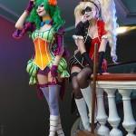 Harley Quinn Cosplay Lady Joker Carnival of Colors