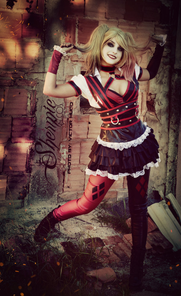 Harley Quinn Shermie Arkham Knight Cosplay Hurry It Up Bats I Dont Have All Day by Victor Hugo