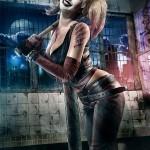 Harley Quinn Cosplay Horror Blood and Bats by Joyreactor