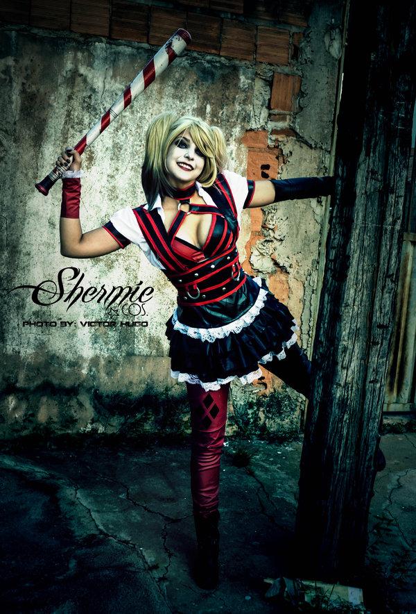 Harley Quinn Shermie Arkham Knight Cosplay Weeee by Victor Hugo